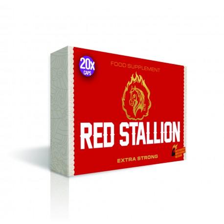 Red Stallion Extra Strong Herbal Enhancement Pills for Men
